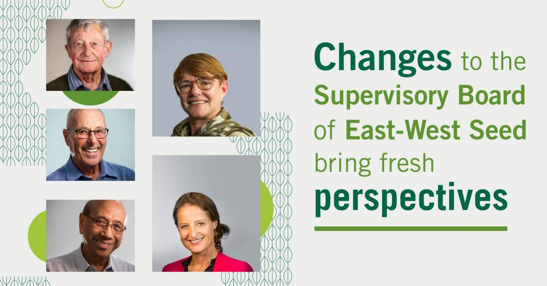 East-West Seed Supervisory Board changes